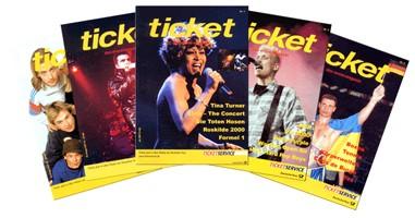 ticket das Eventmagazin