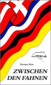 Umschlag, Titelgestaltung des Romanes Zwischen den Fahnen