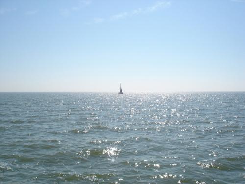 Meer Segelboot