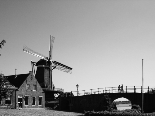 Windmühle Holland